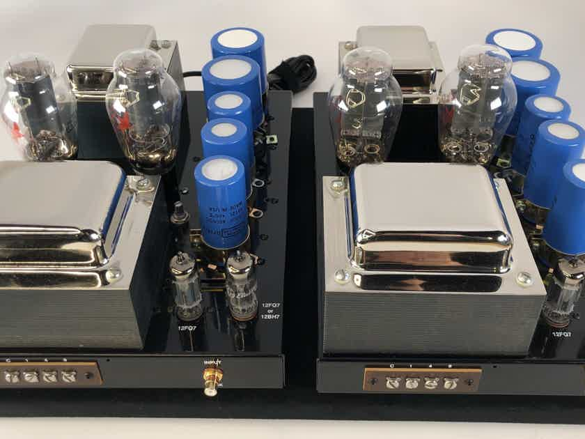 Quicksilver 300B PROTOTYPE Tube Monoblock Amplifiers - One of a Kind!