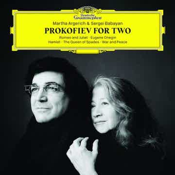 Martha Argerich and Sergei Babayan  Prokofiev For Two