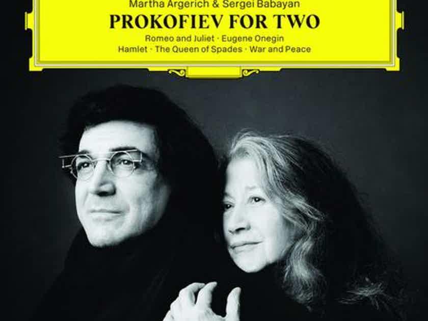 Martha Argerich and Sergei Babayan  - Prokofiev For Two Label:Deutsche Grammophon