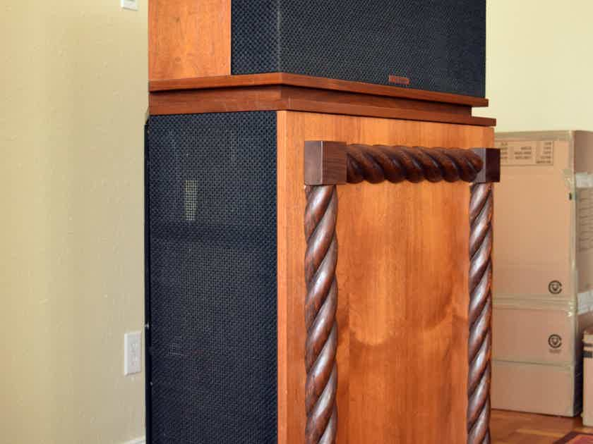 Klipsch Klipschorn KB WO Pair, Fully Updated, 1-Owner, With Removable Rear Cabinet!
