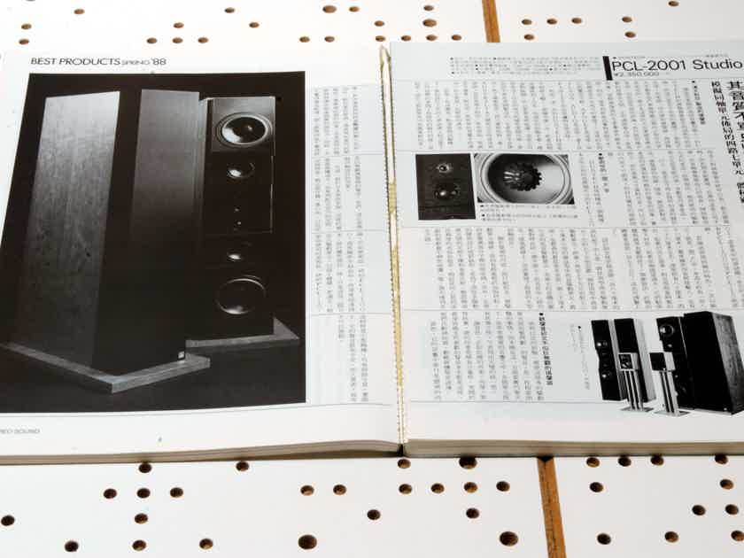 MAGAZINE with REVIEW on CELLO LEVINSON STAX KRELL ACCUPHASE