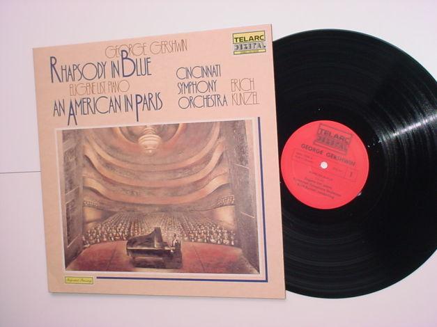 TELARC Digital George Gershwin lp record