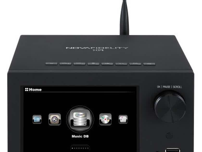Cocktail Audio X14 Integrated Amplifier / Network Streamer; X-14 (New/Open Box) (2/2) (17439)