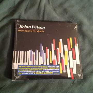 Brian Wilson  Reimagines Gershwin  Still Sealed Compact...