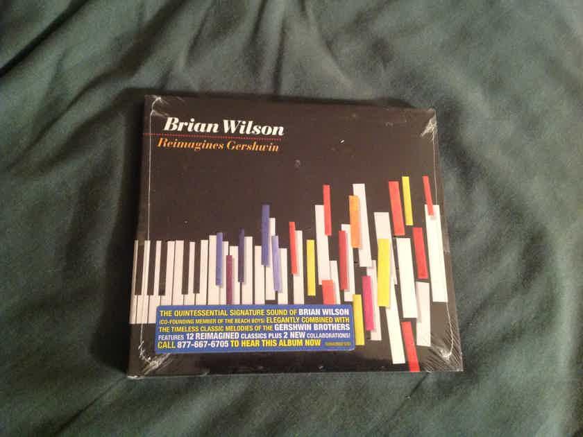 Brian Wilson  Reimagines Gershwin  Still Sealed Compact Disc