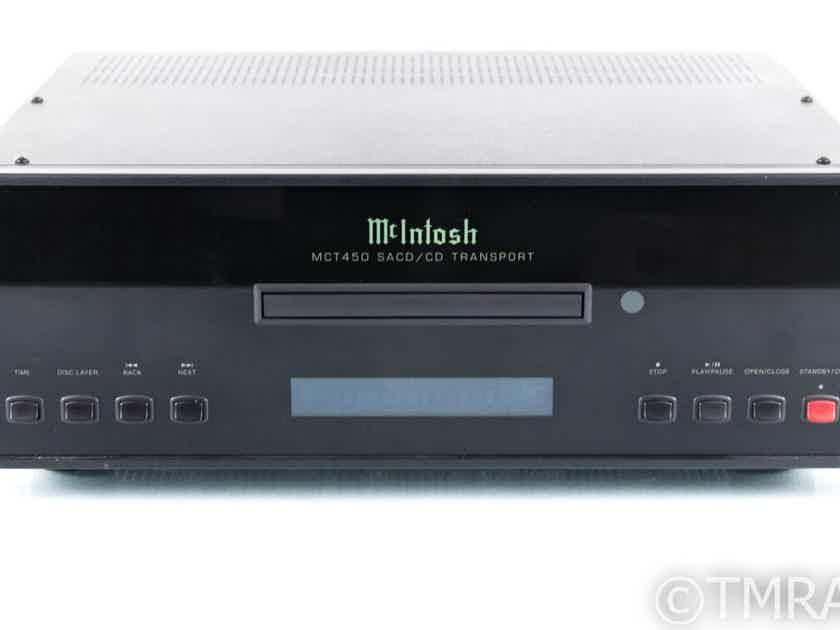McIntosh MCT450 SACD / CD Transport; MCT-450; Remote (2/2) (21536)