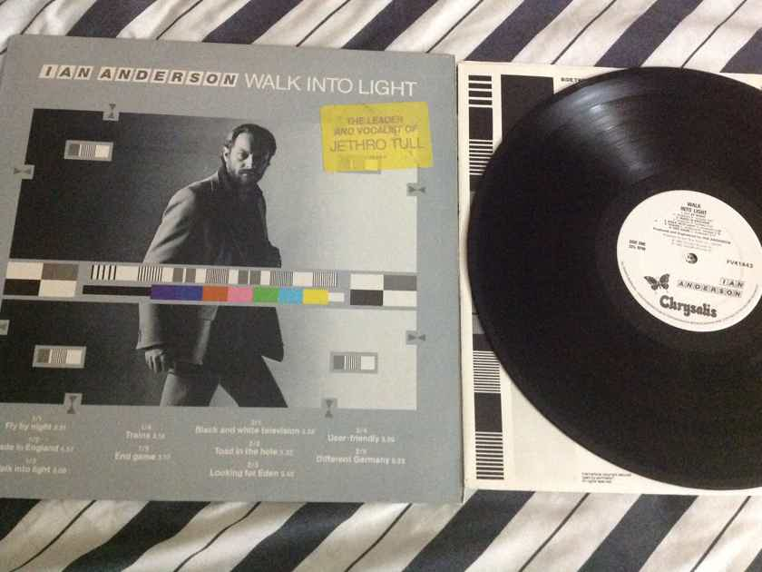 Ian Anderson - Walk Into Light Jethro Tull Solo LP Chrysalis Records Vinyl NM