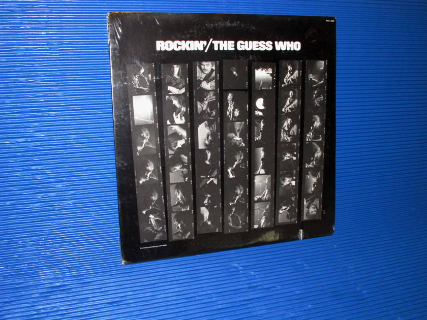 """THE GUESS WHO  - """"Rockin'"""" -  RCA 1970s no Barcode SEALED"""