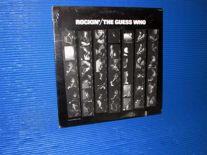 "THE GUESS WHO  - ""Rockin'"" -  RCA 1970s no Barcode SEALED!"