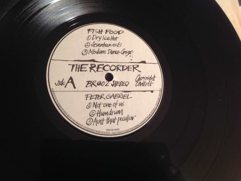 Various Peter Gabriel  The Recorder French Import Vinyl NM