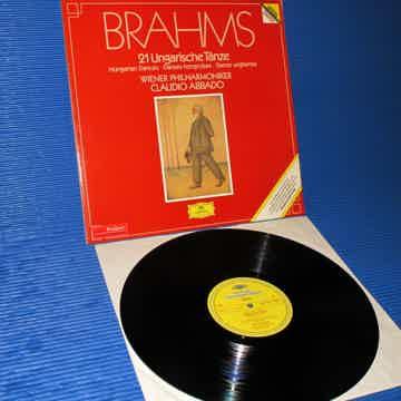"BRAHMS / Abbado   - ""21 Hungarian Dances"" -  DGG 1983 G..."