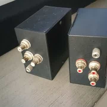 Silver Phono Step Up Transformers