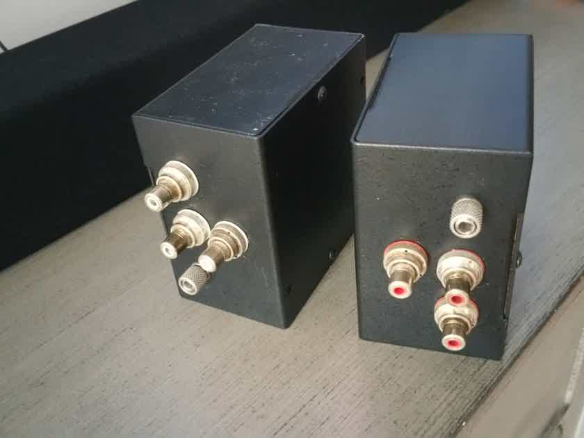 Intact Audio Silver Phono Step Up Transformers - Reduced