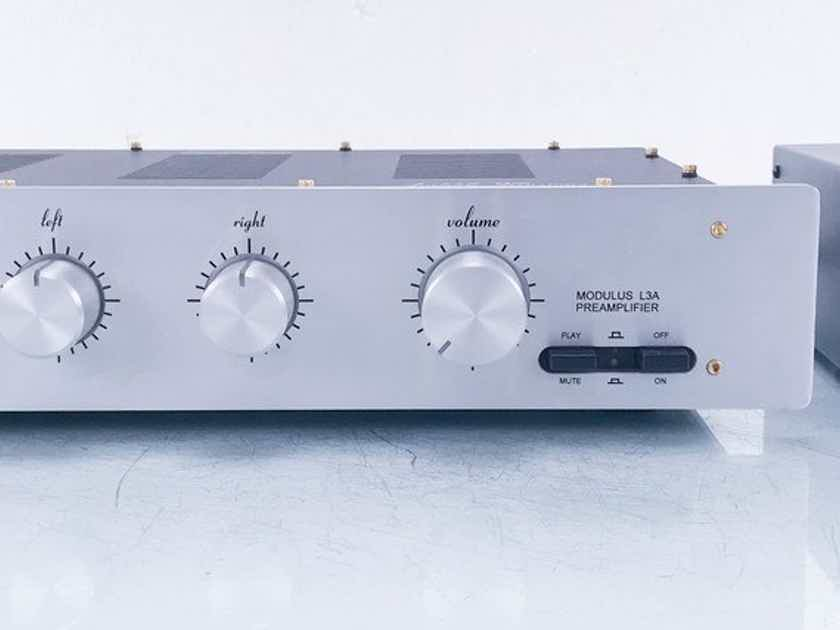Audible Illusions Modulus L3A Stereo Tube Hybrid Preamplifier L3-A (No Remote) (14368)