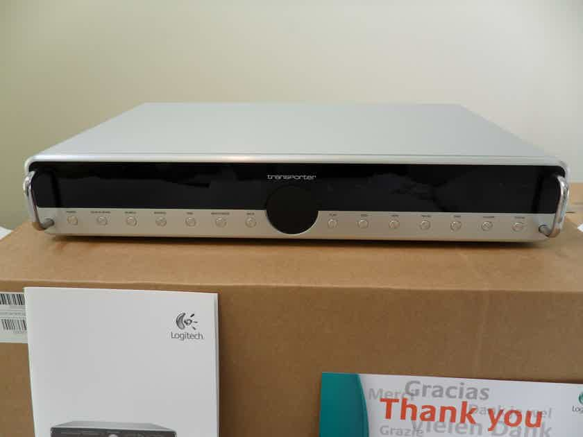 Logitech Transporter SE Network Music Player Silver w/silver buttons NEW IN BOX