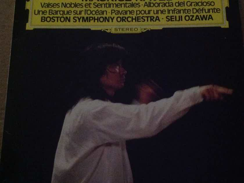 Seiji Ozawa - Vaises Nobles Et Setimentsales DGG Records Germany Vinyl  LP NM
