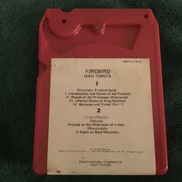 Isao Tomita  Firebird RCA Red Seal Quadraphonic 8 Track