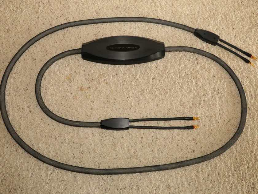 Transparent Audio Reference XL MM2 15-foot speaker cables
