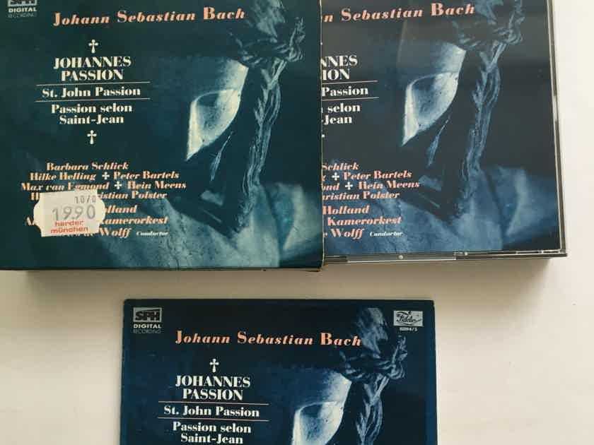 Johann Sebastian Bach Cd set Johannes Passion St John Passion Fidelio
