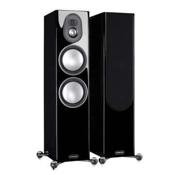MONITOR AUDIO Gold 300 (5G) Spkrs (Black Gloss): Review...