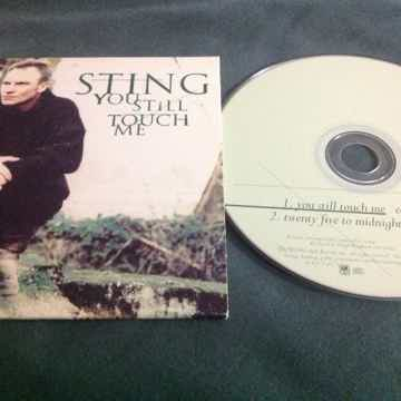 Sting  - You Still Touch Me/Twenty Five To Midnight A &...