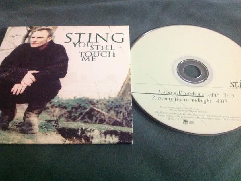 Sting  - You Still Touch Me/Twenty Five To Midnight A & M Records Compact Disc  Single