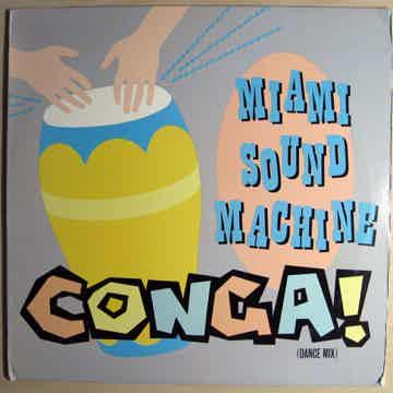 """Miami Sound Machine Conga! 12"""" Single -  33 RPM"""