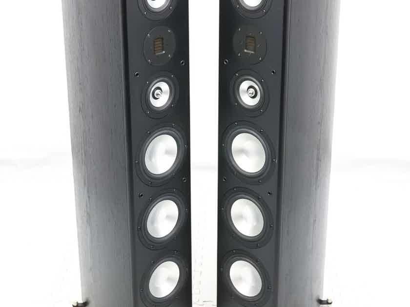 RBH SX-6300/R Reference Floorstanding Speakers; Black Oak Pair; AMT Tweeters (27782)