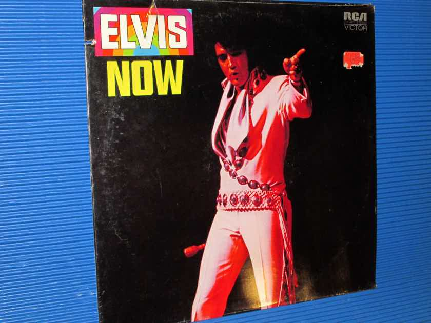 "ELVIS   - ""ELVIS NOW"" -  RCA 1972 Original SEALED!"