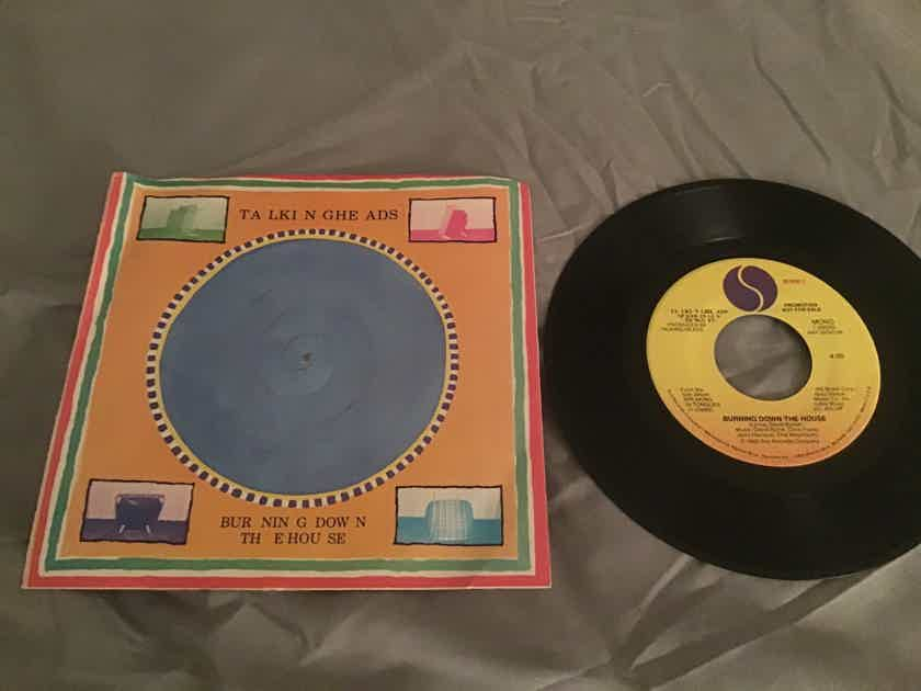 Talking Heads Burning Down The House Promo Mono/Stereo 45