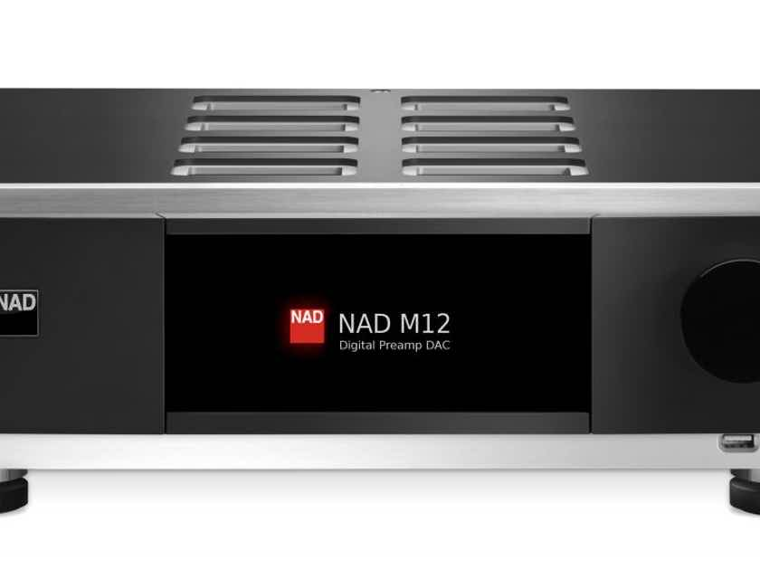 nad masters series m12 direct digital preamp dac solid. Black Bedroom Furniture Sets. Home Design Ideas