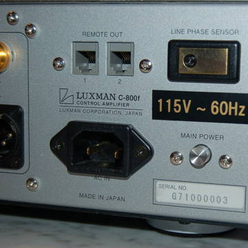Luxman C-800 f