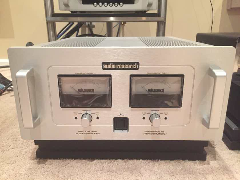 Audio Research Reference 75 SE Mint customer trade-in