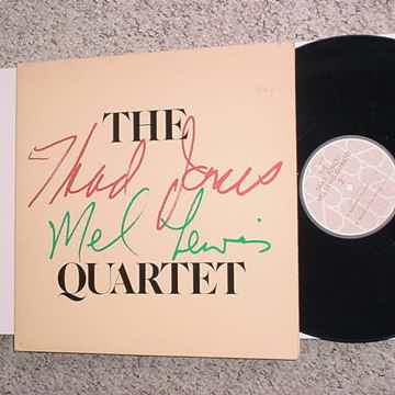 THE Thad Jones Mel Lewis Quartet  lp record 1978 artists house records