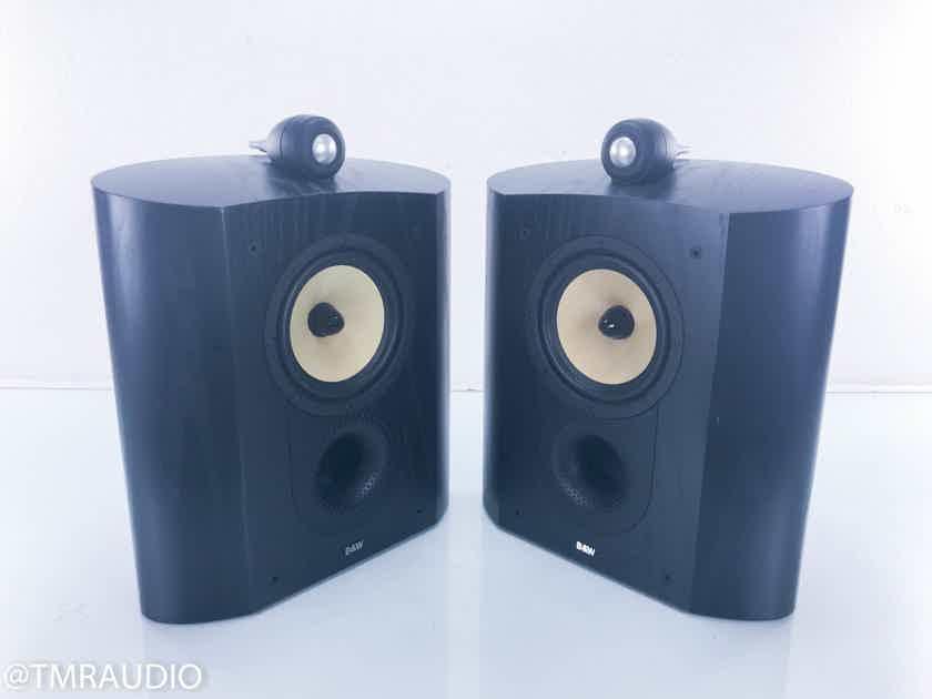 B&W Nautilus SCM1 Wall Mount Surround Speakers Black Ash Pair; SCM-1 (13819)