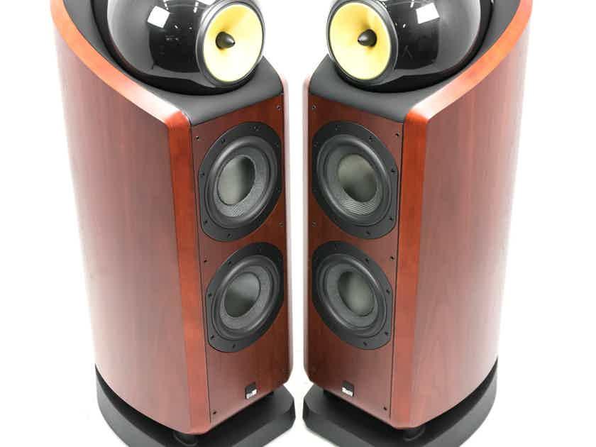 B&W 802D Floorstanding Speakers; Rosewood Pair (23323)