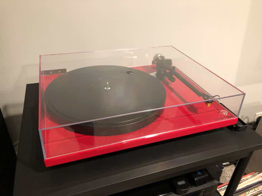 Rega RP-6 with groove tracer upgrades