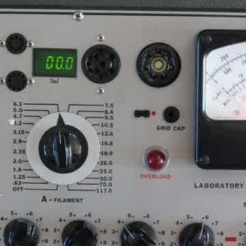 Triplett 3444 tube analyzer tester  digitial plate current meter, match up tubes