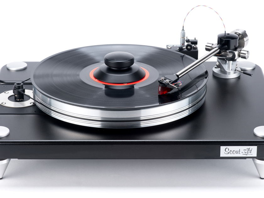 VPI Scout Turntable w/ JMW 9 Tonearm, New In Box, Latest  Version!