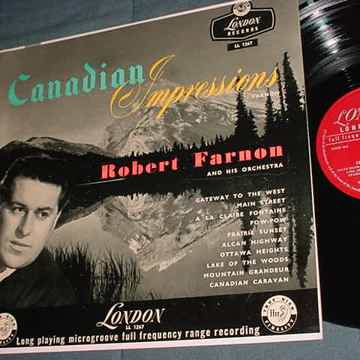 Robert Farnon Canadian Impressions lp record LONDON LL 1267 SEE ADD
