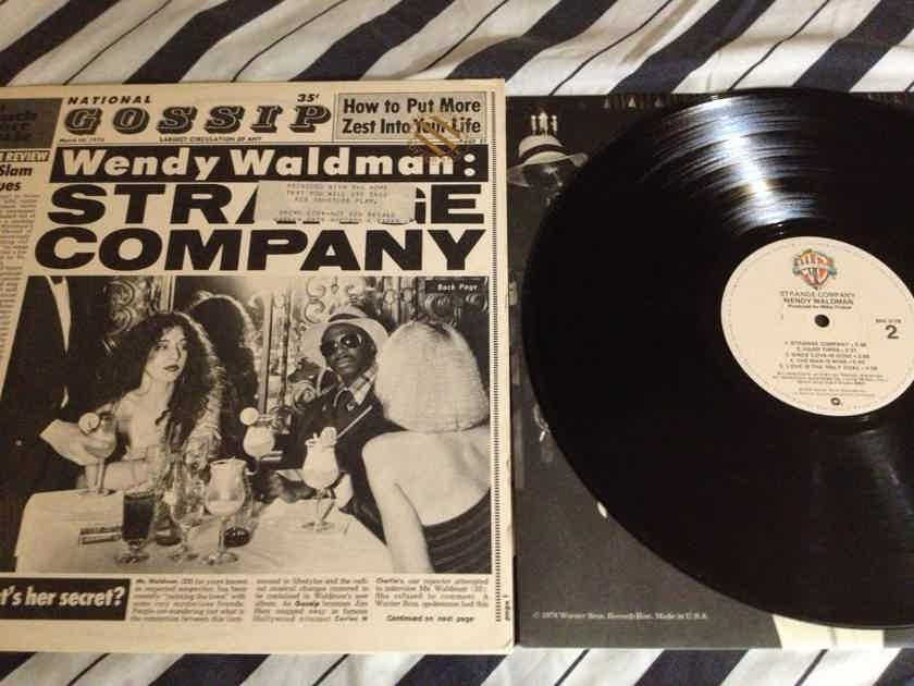 Wendy Waldman - Strange Company Warner Brothers Records Vinyl LP NM