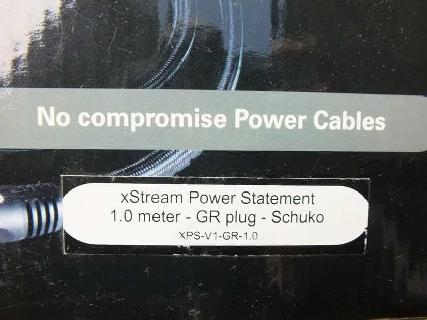 PS Audio Xstream Statement  power cable 1,0 metre