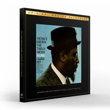 Thelonious Monk Quartet Monk's Dream – Mofi Ultradisc 180g 45RPM 2LP Box Set
