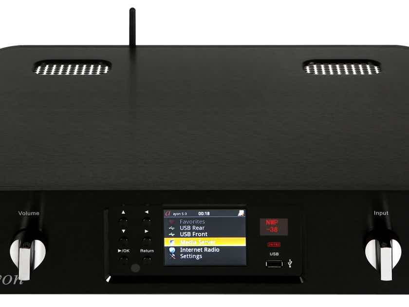 "Ayon Audio S-3 TUBE MEDIA SERVER ""BEST OF SHOW"" 8 YEARS!"