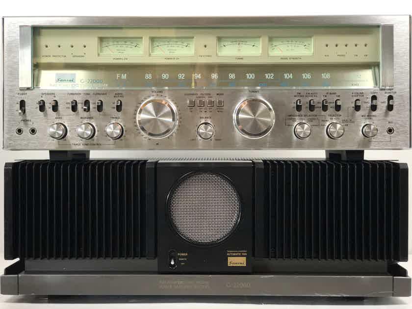 Sansui G-22000 DC Stereo Receiver Preamp/Tuner & Power Amplifier AMP 100/120/220/240V Voltage