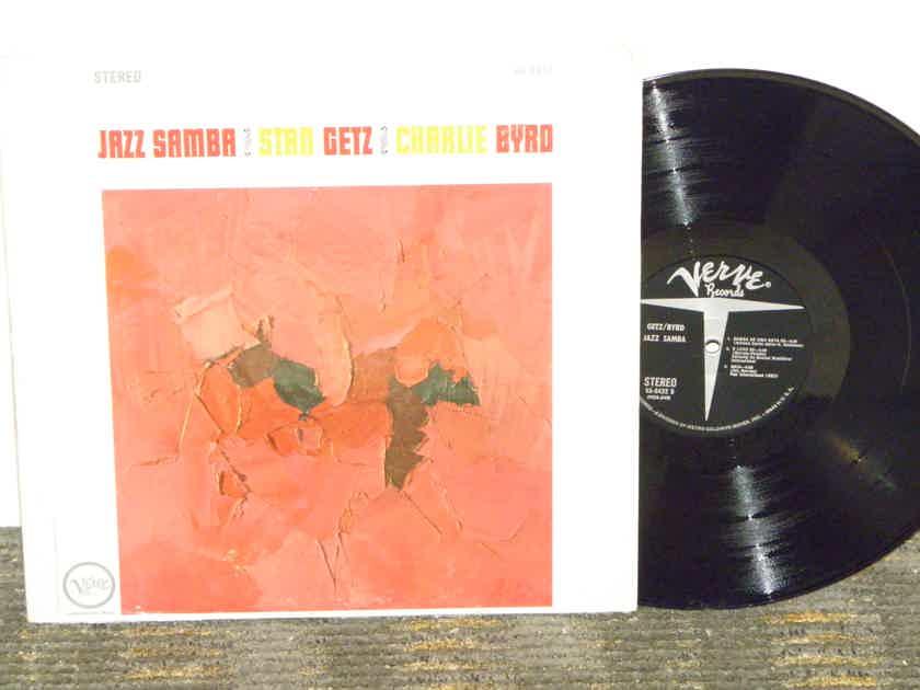 """Stan Getz / Charlie Byrd - """"JAZZ SAMBA"""" Verve V6 8432 """"In Shrink"""""""