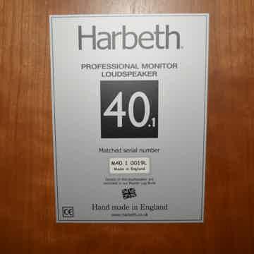 Harbeth Monitor 40.1