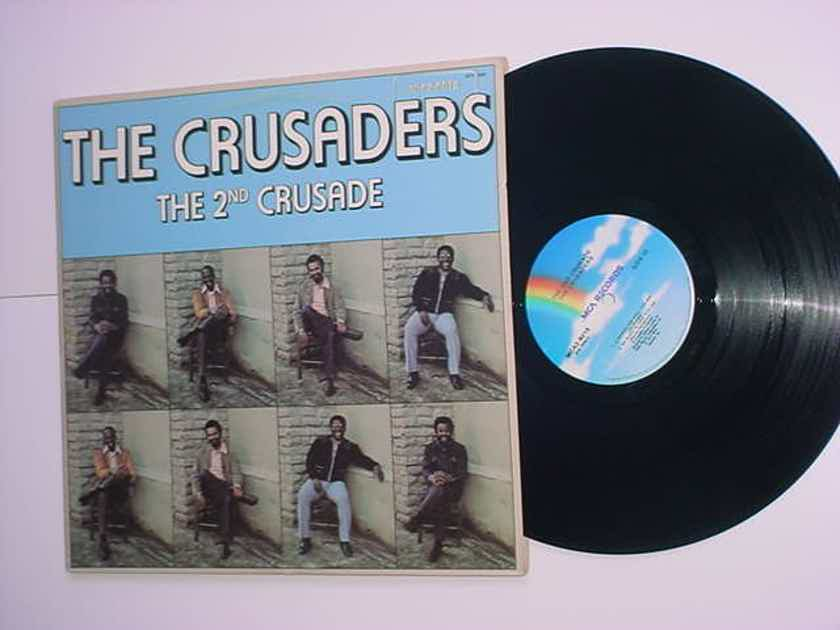 The Crusaders the 2nd crusade double lp record MCA Promo stamp