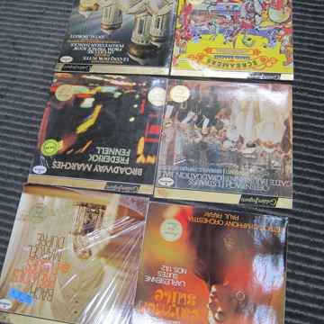 6 Mercury Golden Import Classical LPs, Ex Sound, Produ...