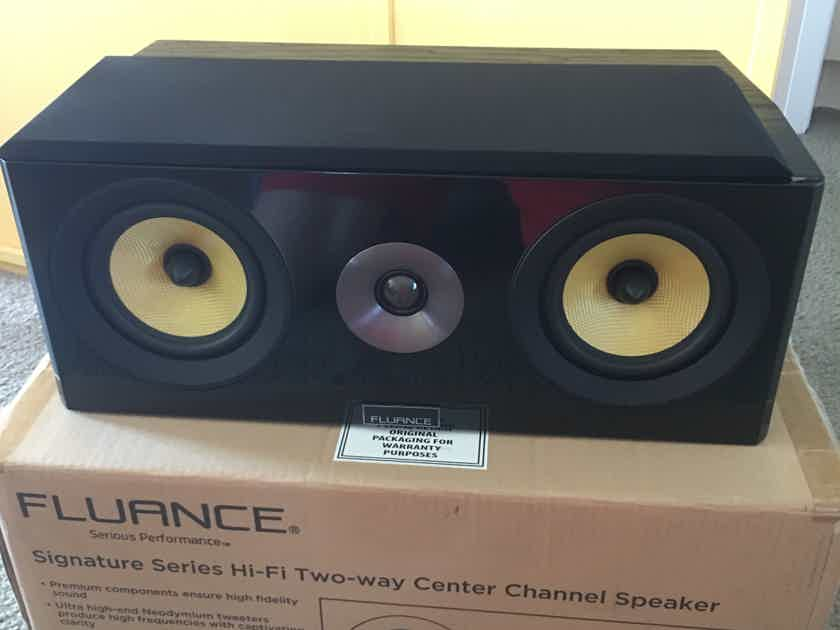 FLUANCE  signature series 5.1 speakers like new with boxes